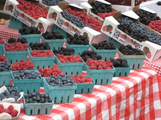 Eugene, OR Farmers' Market Stand