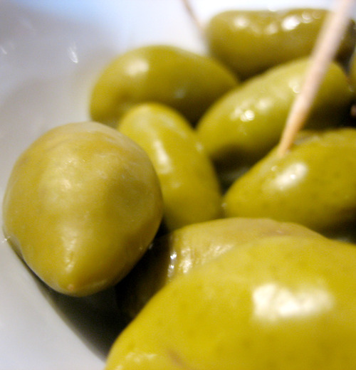 unpasteruized Lucques olives